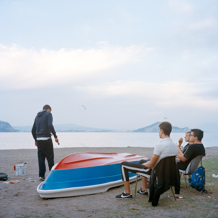 "Marta Giaccone, ""Ritorno all'isola di Arturo"", project on teens living on Procida, Italy (2015-present)"