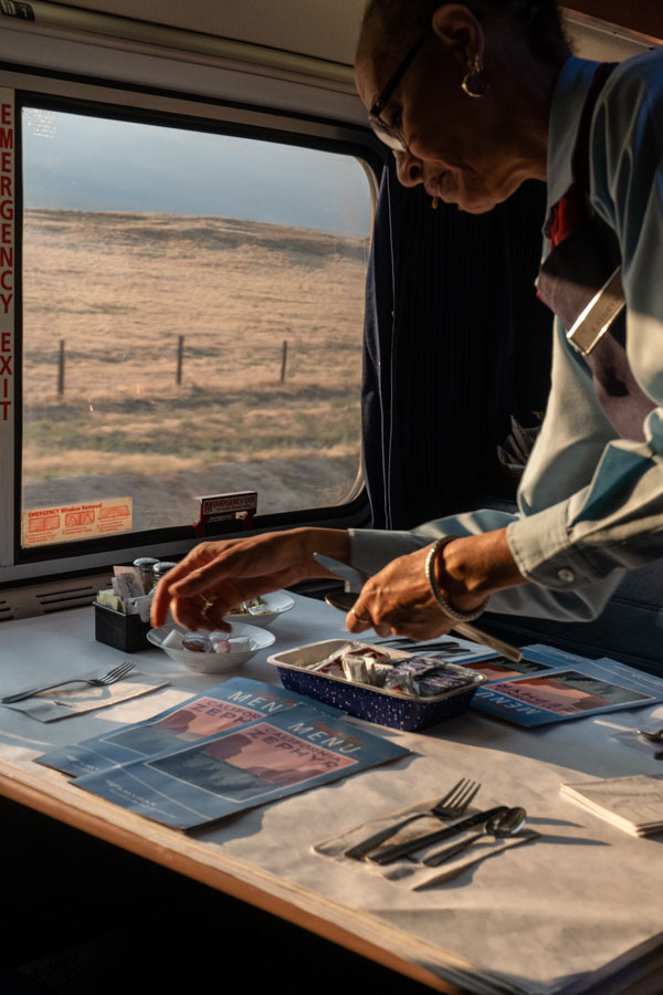 Marta Giaccone - Amtrak California Zephyr travel reportage 2018 - freelance travel work