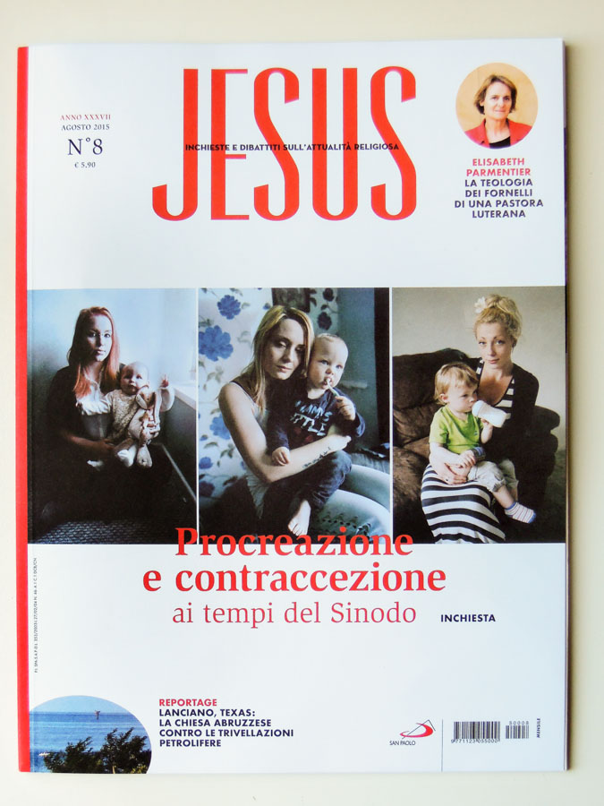 "Marta Giaccone, ""Be Still, My Heart"", portraits of Welsh teen mothers, Jesus Edizioni San Paolo, August 2015"
