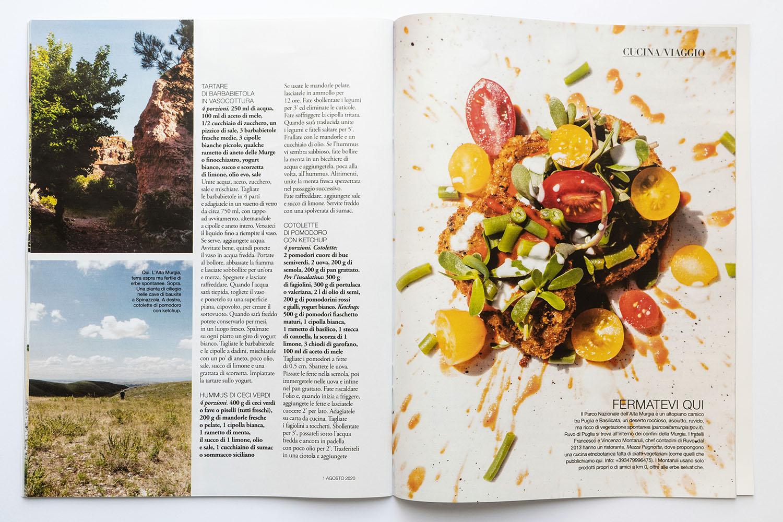 Marta Giaccone, food editorial, D la Repubblica magazine, Aug 2020