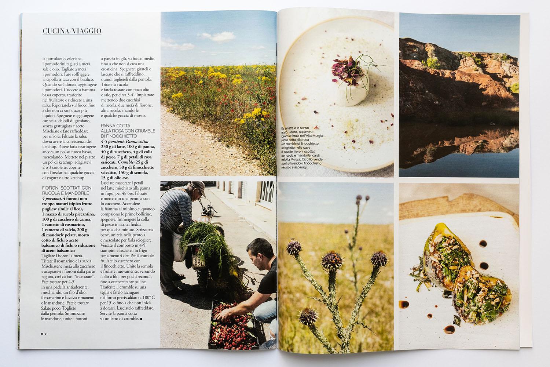 Marta Giaccone, food + travel editorial, D la Repubblica magazine, Aug 2020