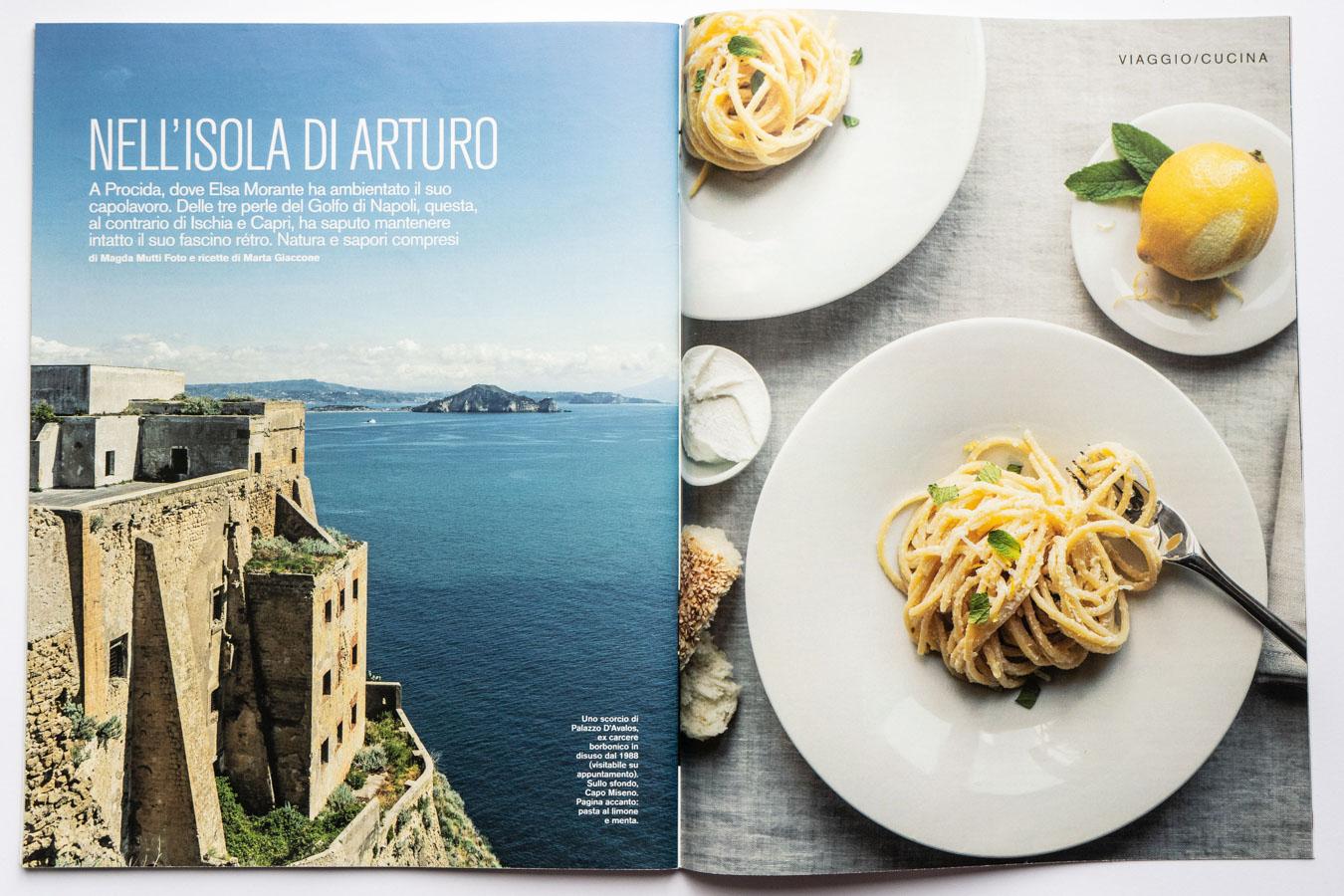Marta Giaccone, food + travel editorial, D la Repubblica magazine, June 2019