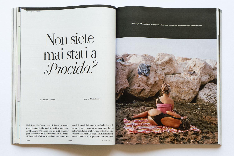 Marta Giaccone, D la Repubblica magazine, May 2021