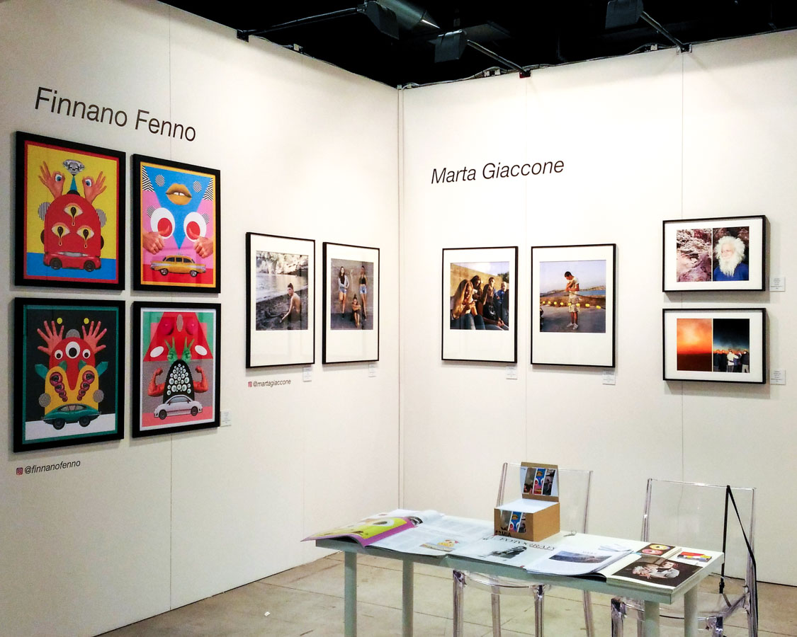 """Marta Giaccone, """"Ritorno all'isola di Arturo"""" - MIA FAIR stand """"Galleria STILL Young"""", Milano, 2018"""
