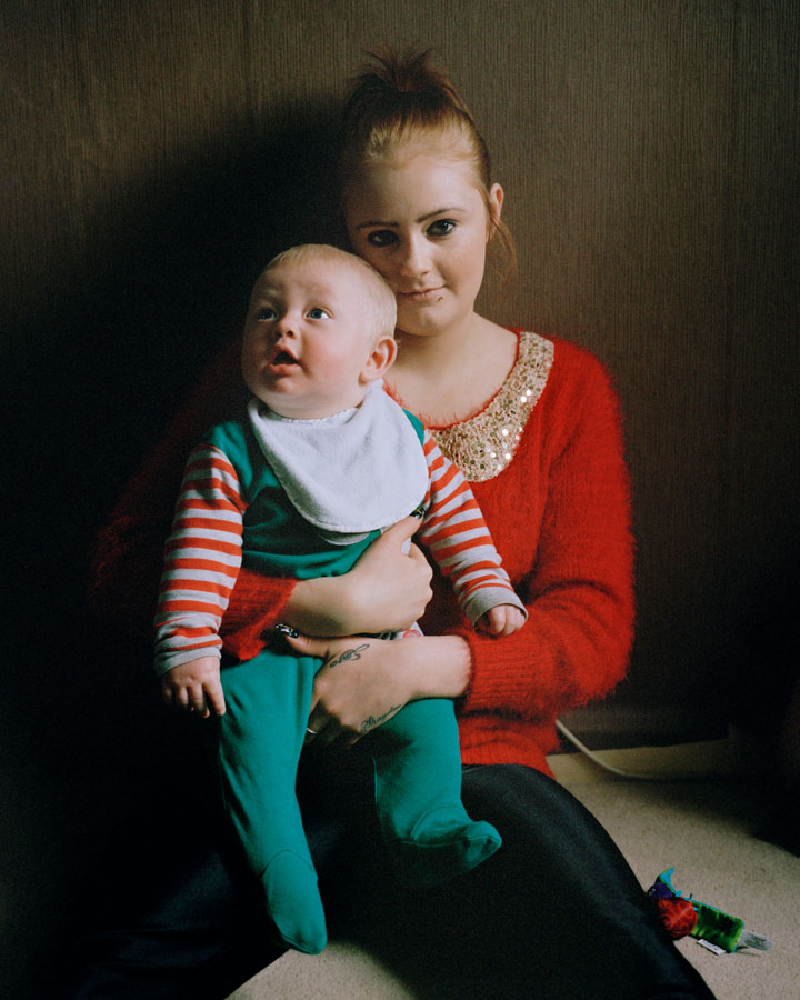 "Marta Giaccone, ""Be Still, My Heart"", project on teen mothers in Wales, UK, 2014-present"